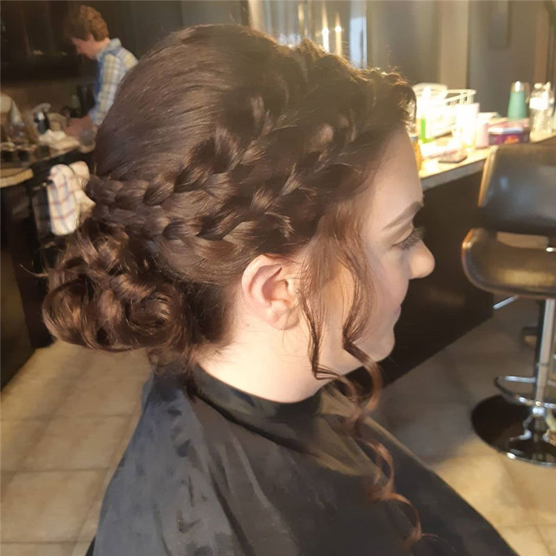 Lovely Wedding Hairstyles You'll Love for 2020-20