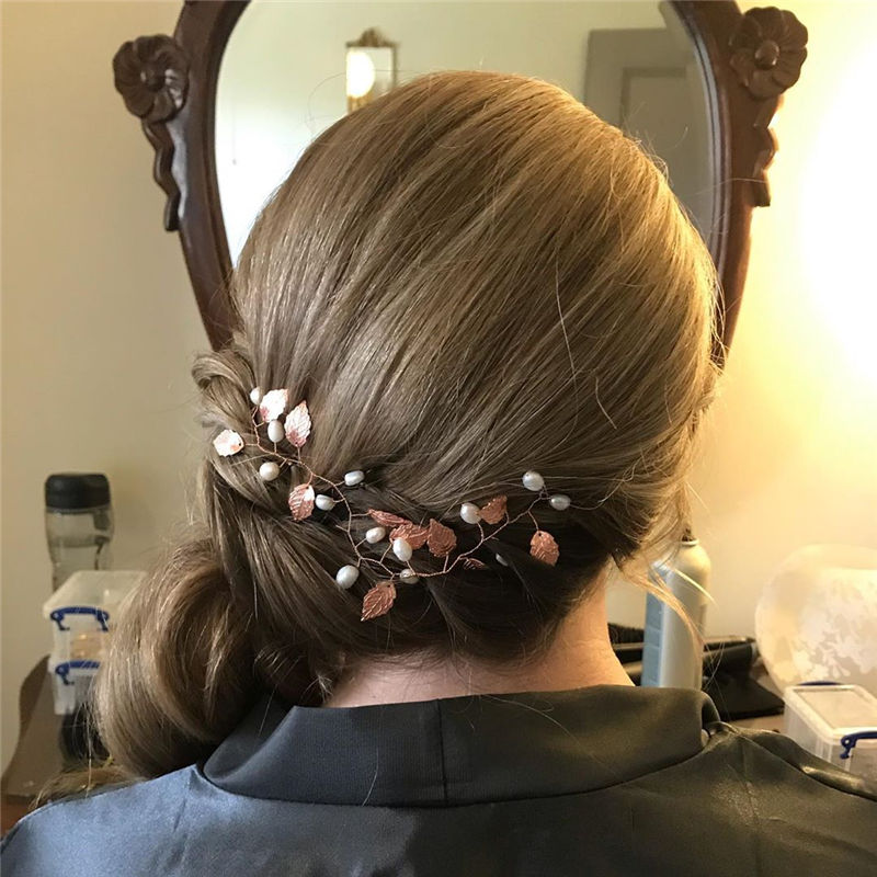 Lovely Wedding Hairstyles You'll Love for 2020-27