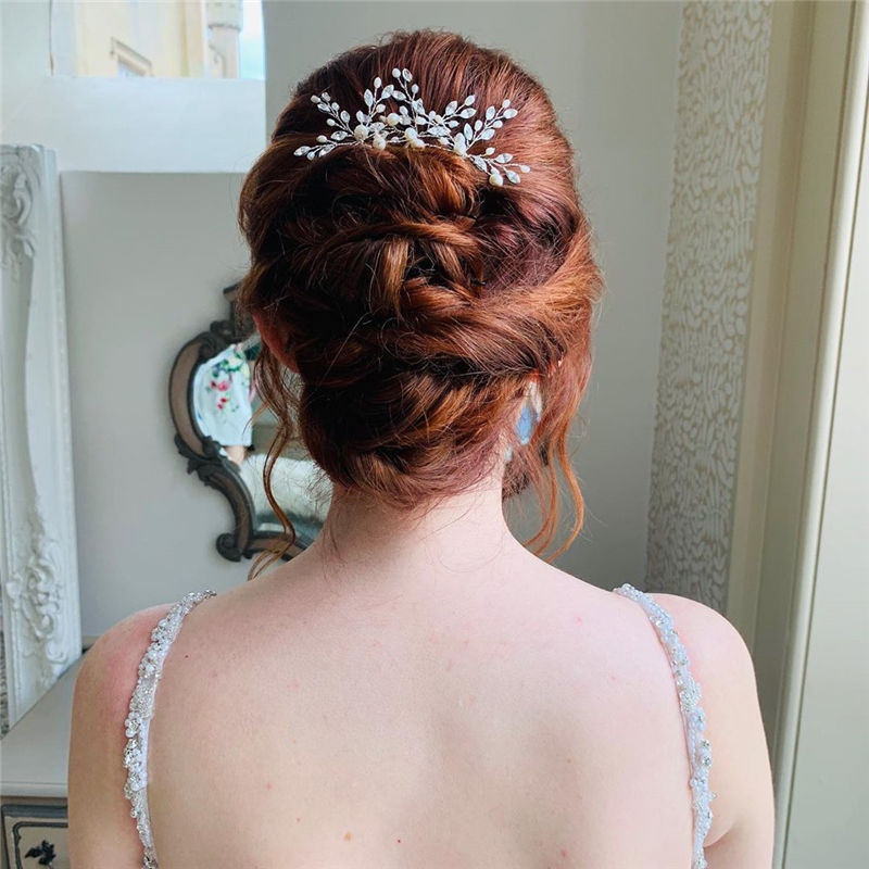 Lovely Wedding Hairstyles You'll Love for 2020-30