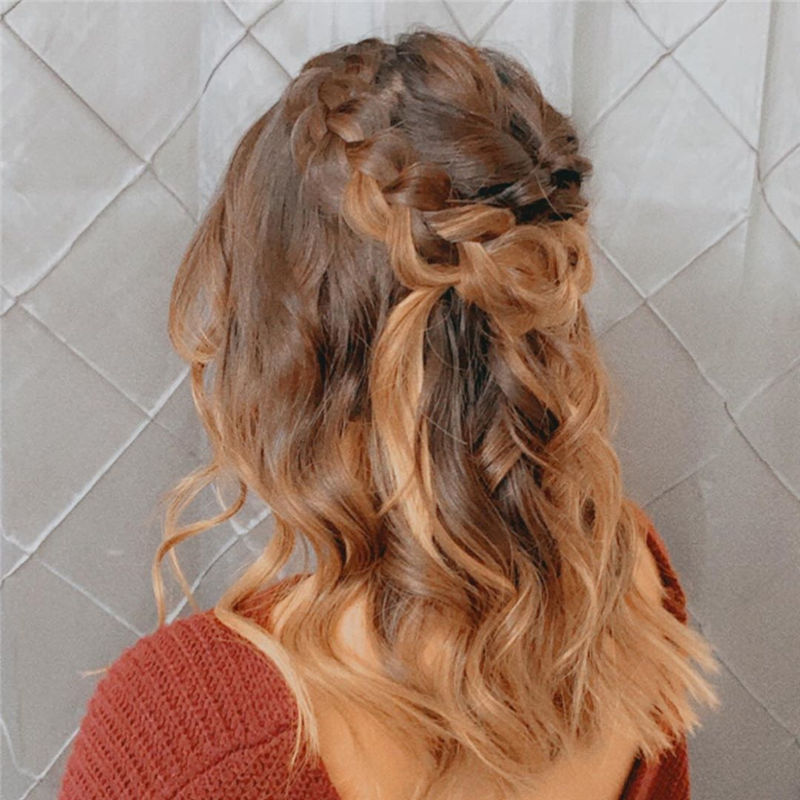 Lovely Wedding Hairstyles You'll Love for 2020-31