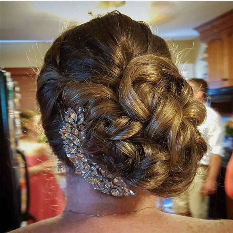 Lovely Wedding Hairstyles You'll Love for 2020-45