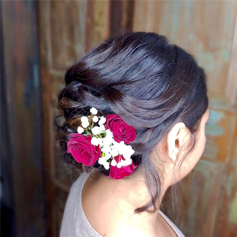 Lovely Wedding Hairstyles You'll Love for 2020-53