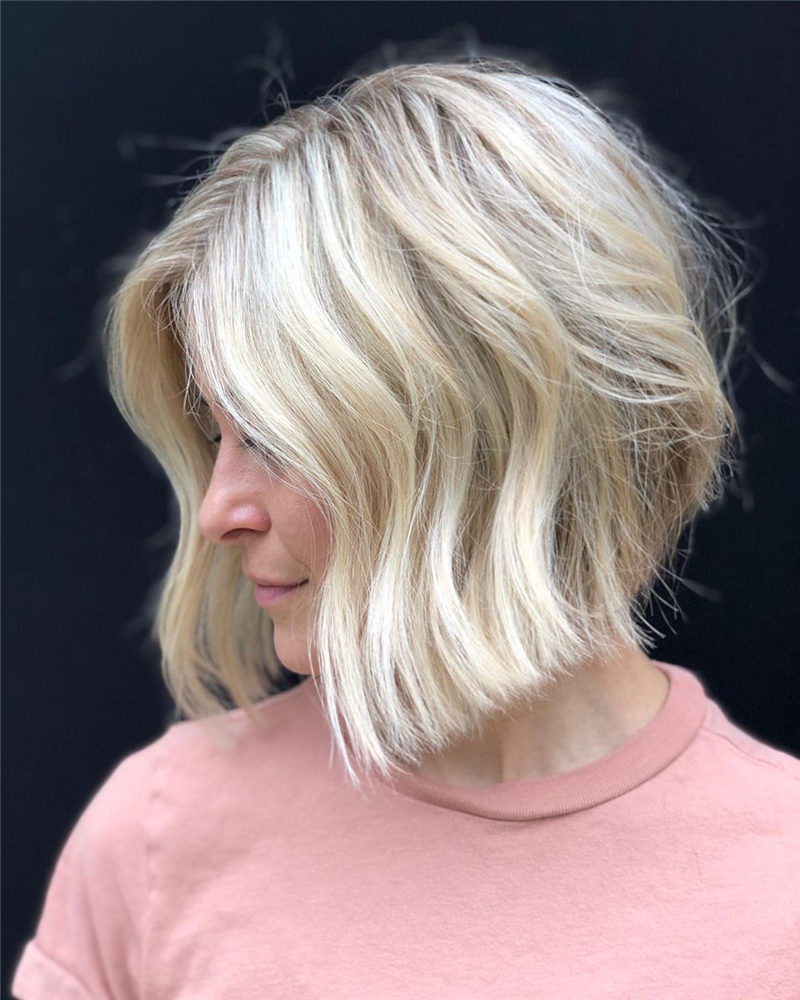 Stylish Short Bob Haircuts for Spring of 2020-01