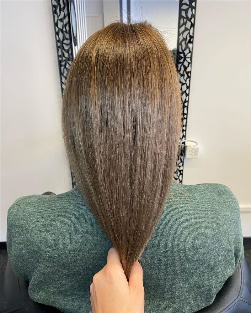 Best Medium Hairstyles That Make You Look Younger-28