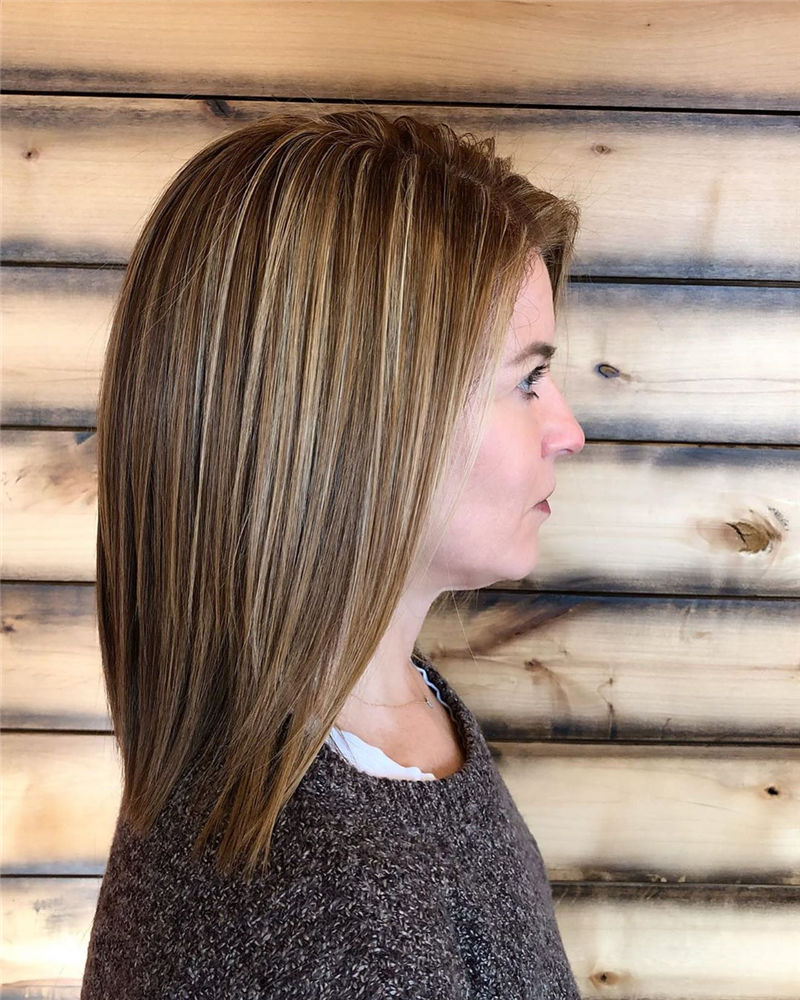 Best Medium Hairstyles That Make You Look Younger-30