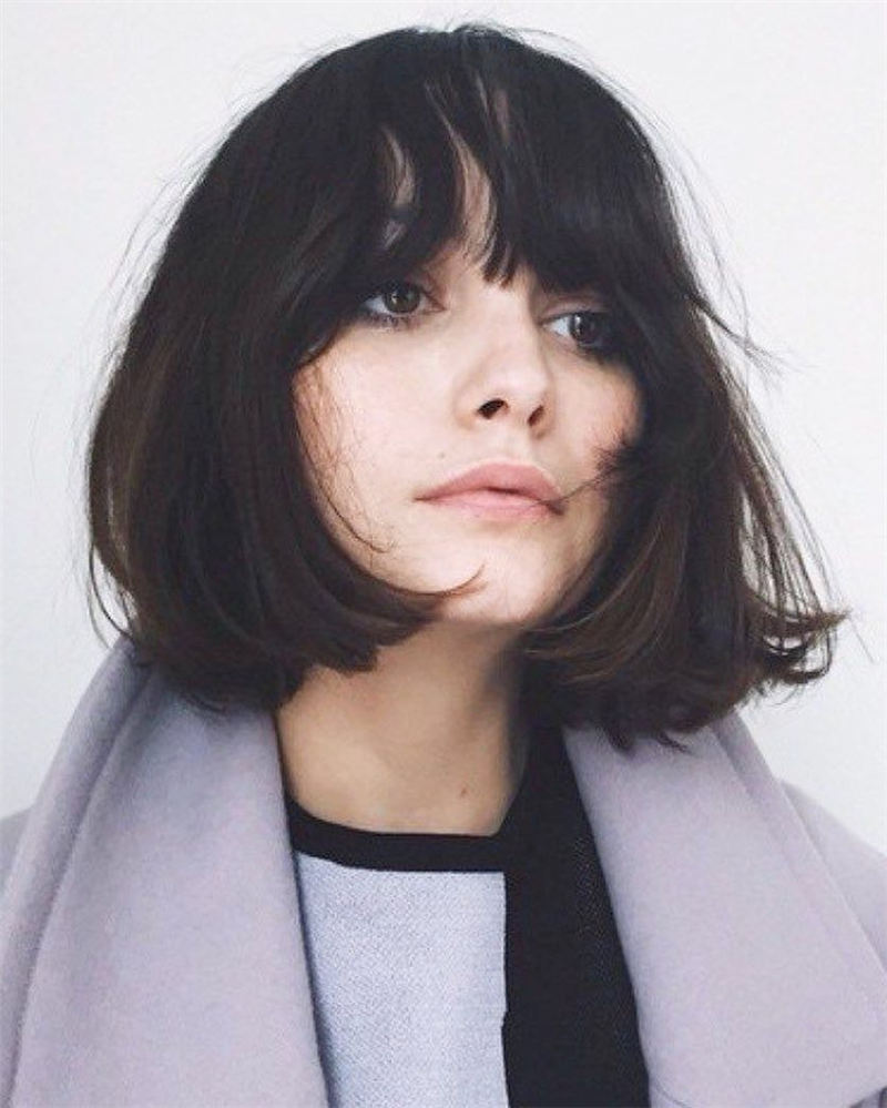 Best Short Bob with Bangs for An Amazing Look 25