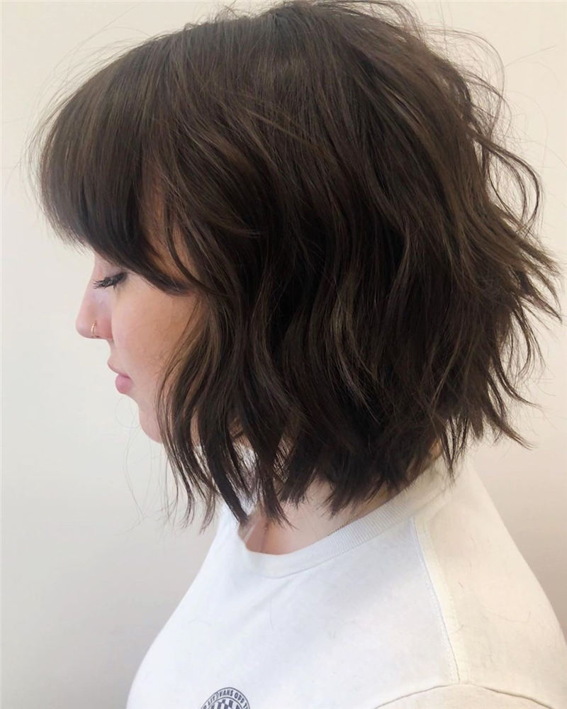Best Short Bob with Bangs for An Amazing Look 32