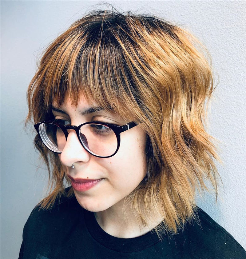 Best Short Bob with Bangs for An Amazing Look 35