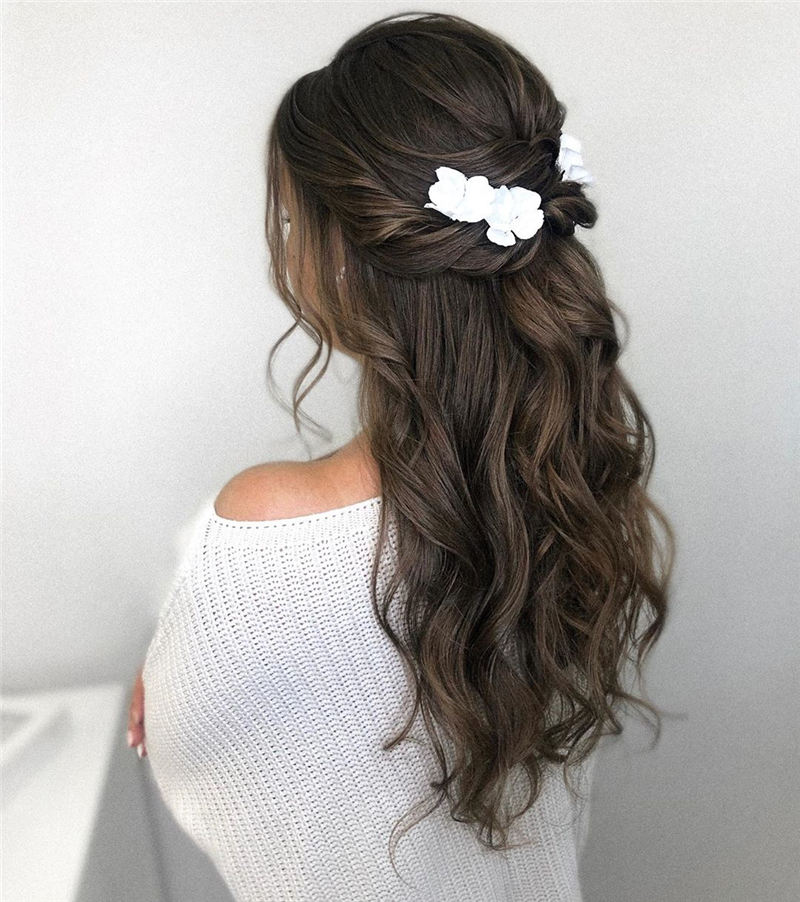 Best Wedding Hairstyles that Are Great for Big Day-11