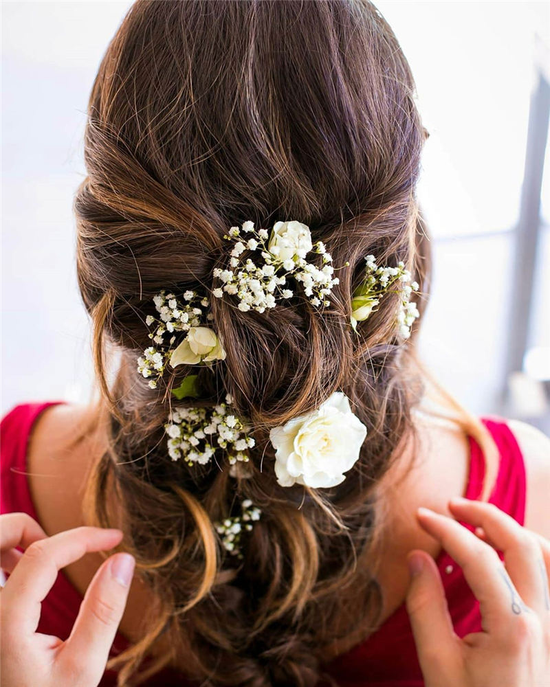 Best Wedding Hairstyles that Are Great for Big Day-16