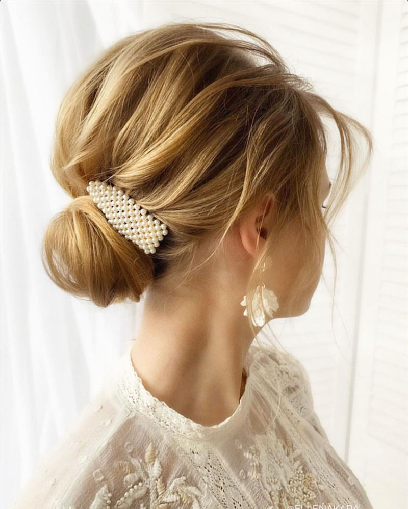 Best Wedding Hairstyles that Are Great for Big Day-23