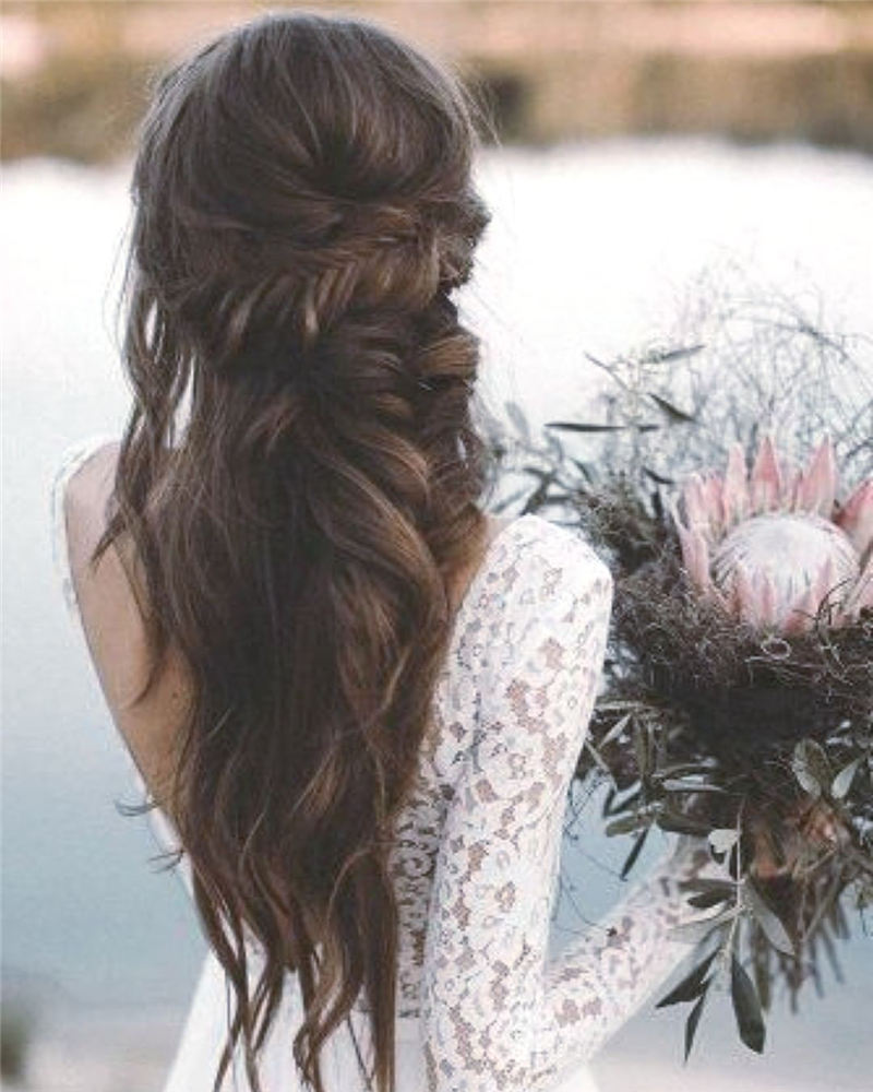 Best Wedding Hairstyles that Are Great for Big Day-26