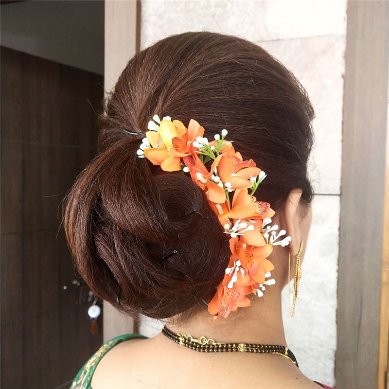Best Wedding Hairstyles that Are Great for Big Day-39
