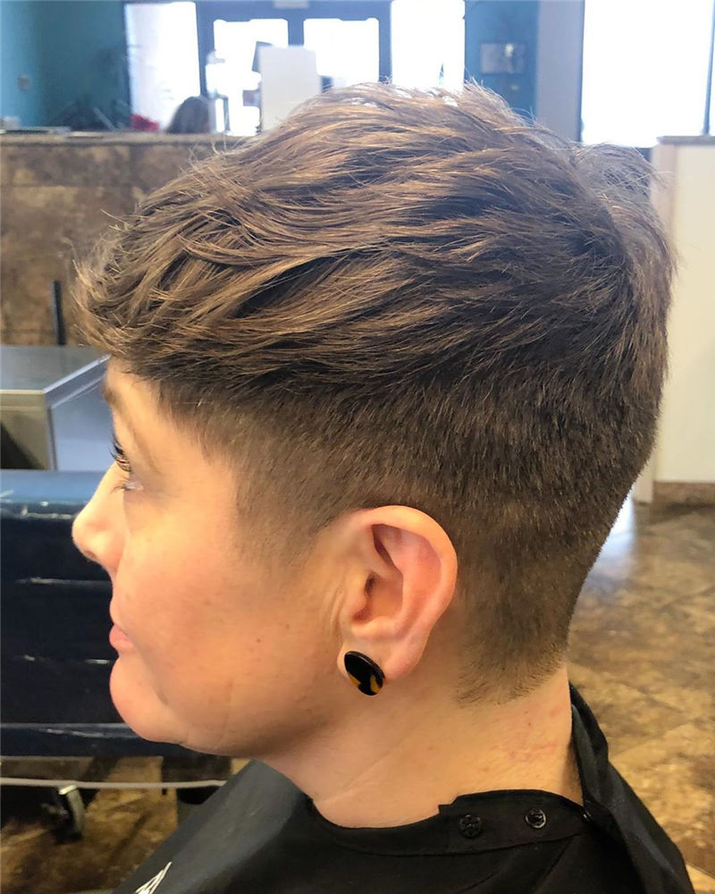 Cool Short Haircuts You Can't Miss 2020-05