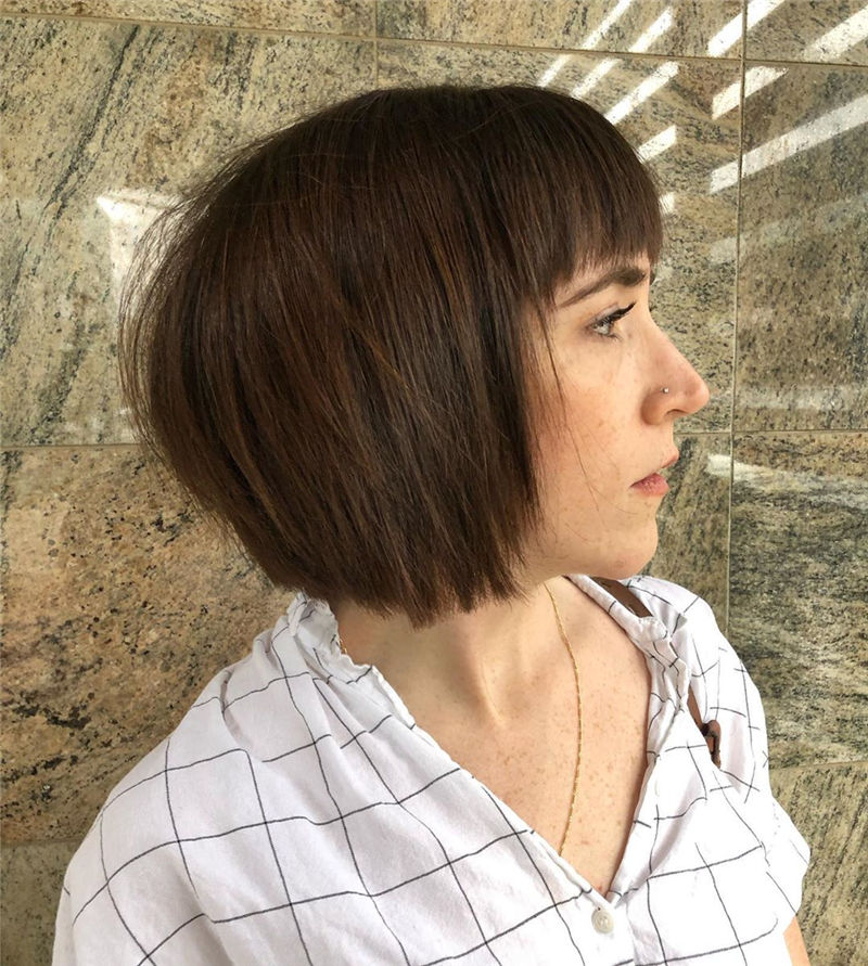 Cool Short Haircuts You Can't Miss 2020-24