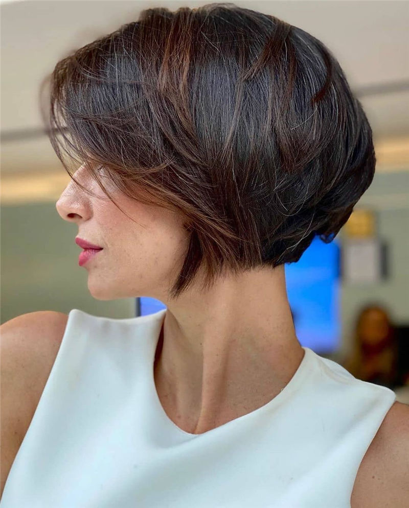 Cute Bob Haircuts You Cant Miss This Year 01