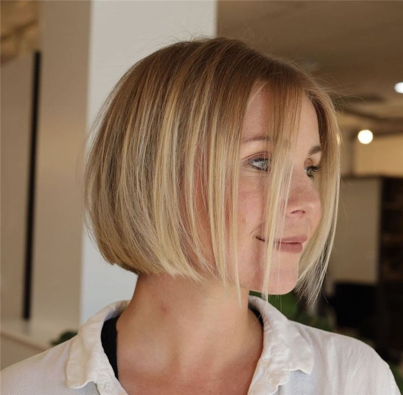 Cute Bob Haircuts You Cant Miss This Year 07