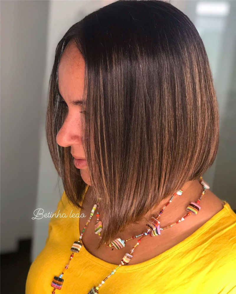 Cute Bob Haircuts You Cant Miss This Year 41