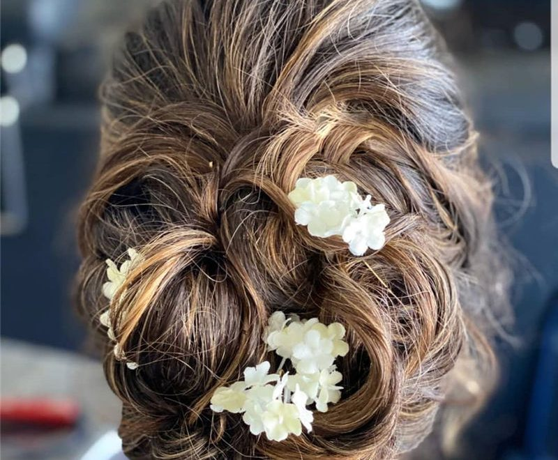 Gorgeous Textured Updo Hairstyles to Inspire Your Prom Look 45