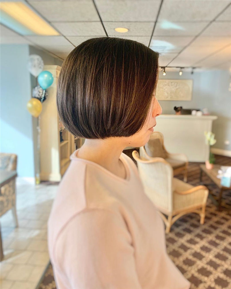 Most Trendy and Terrific Bob Haircuts for Charming Look-02