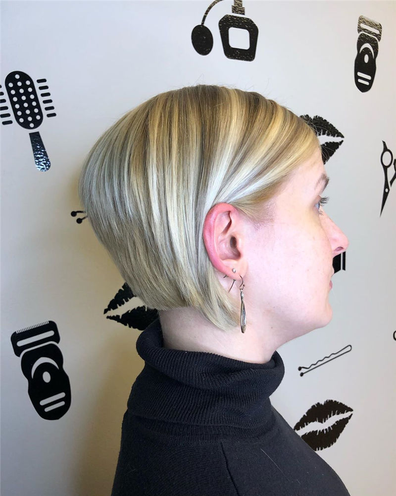 Most Trendy and Terrific Bob Haircuts for Charming Look-08