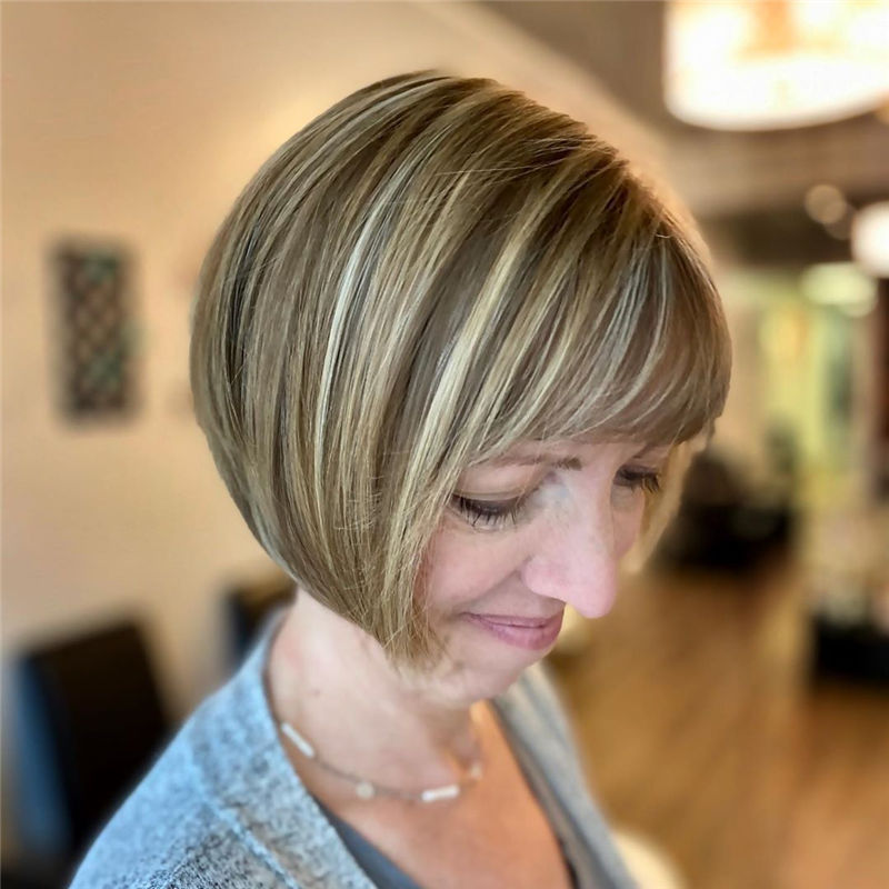 Most Trendy and Terrific Bob Haircuts for Charming Look-10