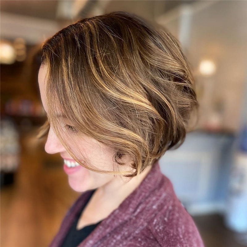 Most Trendy and Terrific Bob Haircuts for Charming Look-11