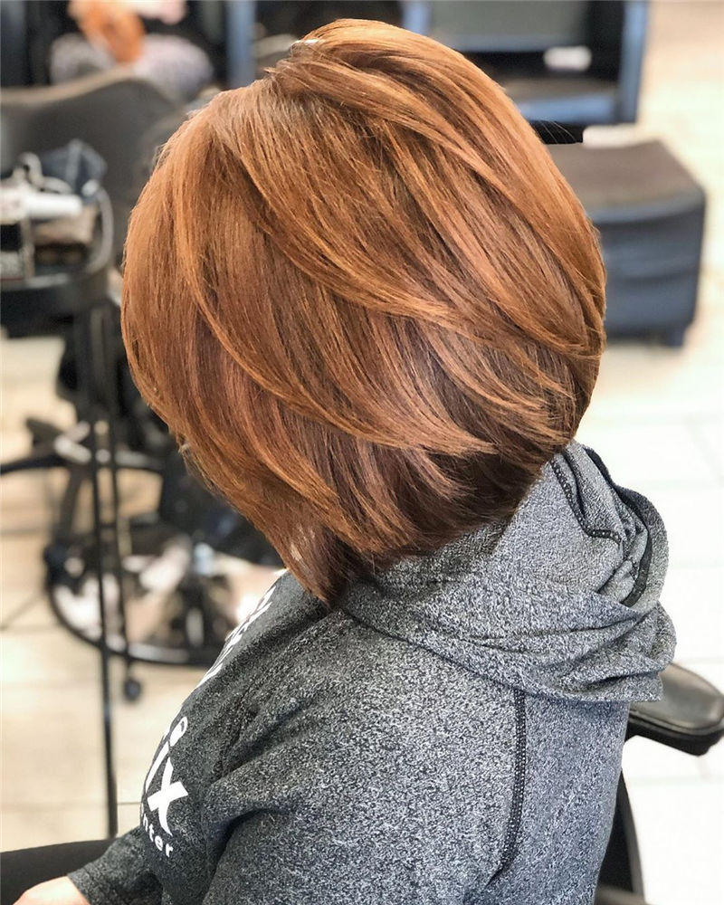 Most Trendy and Terrific Bob Haircuts for Charming Look-12