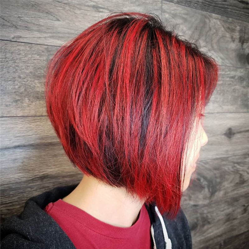 Most Trendy and Terrific Bob Haircuts for Charming Look-14