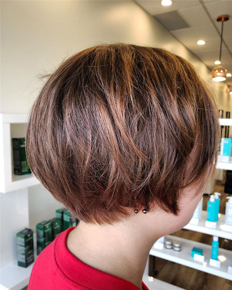 Most Trendy and Terrific Bob Haircuts for Charming Look-15