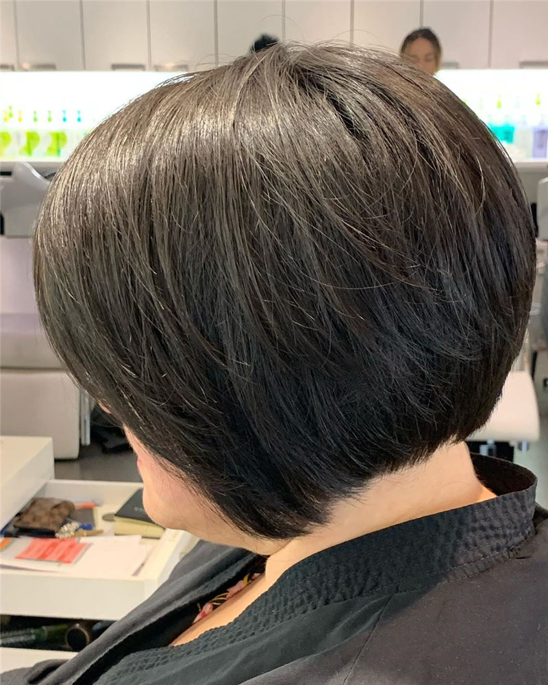 Most Trendy and Terrific Bob Haircuts for Charming Look-16