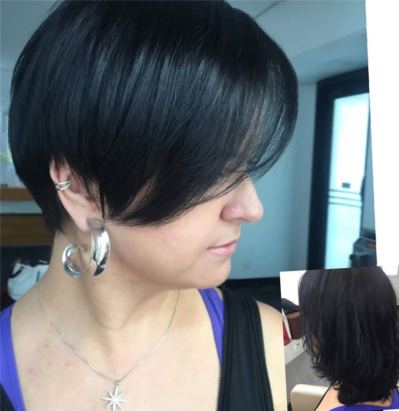 Most Trendy and Terrific Bob Haircuts for Charming Look-19