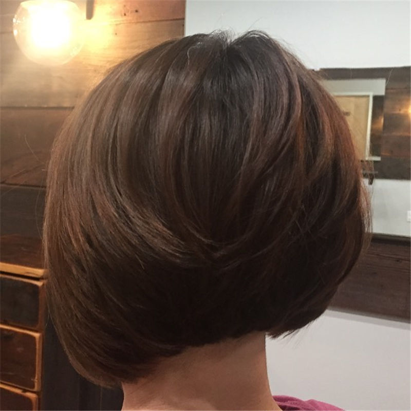 Most Trendy and Terrific Bob Haircuts for Charming Look-25