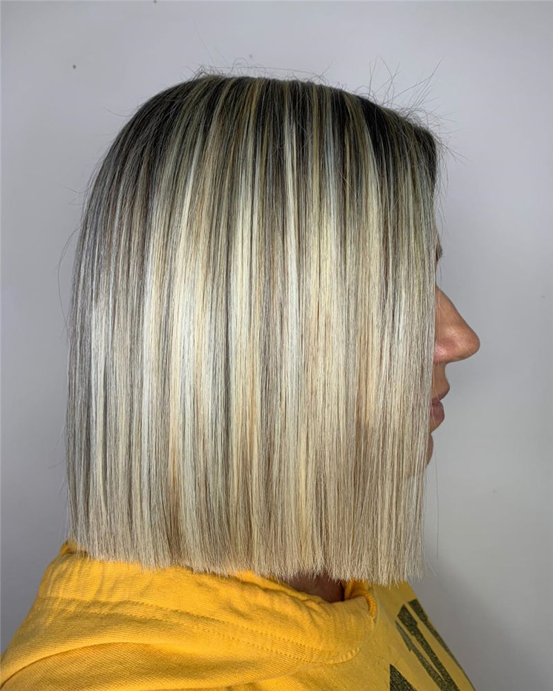 Most Trendy and Terrific Bob Haircuts for Charming Look-26