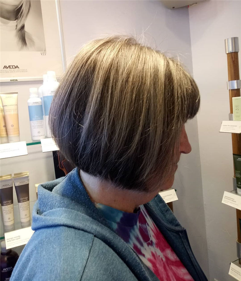 Most Trendy and Terrific Bob Haircuts for Charming Look-27
