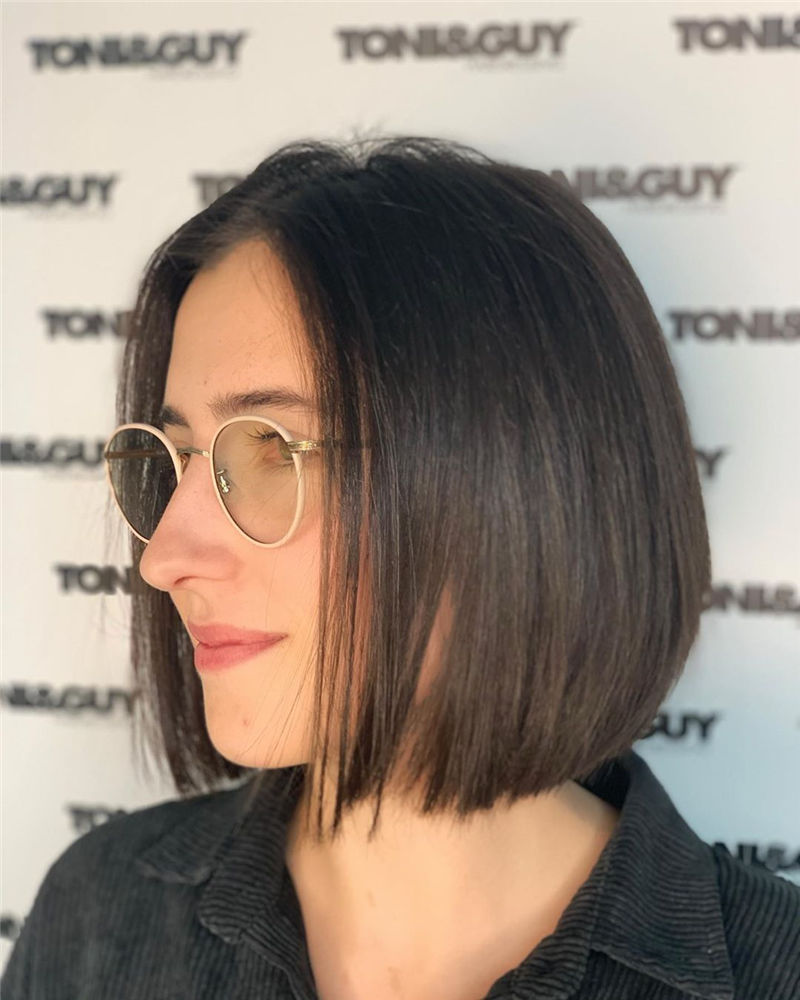 Most Trendy and Terrific Bob Haircuts for Charming Look-28