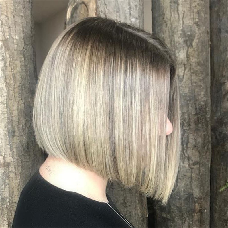 Most Trendy and Terrific Bob Haircuts for Charming Look-30