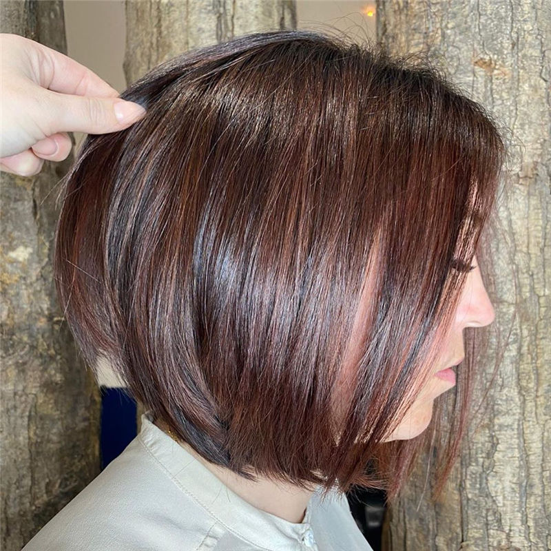 Most Trendy and Terrific Bob Haircuts for Charming Look-31