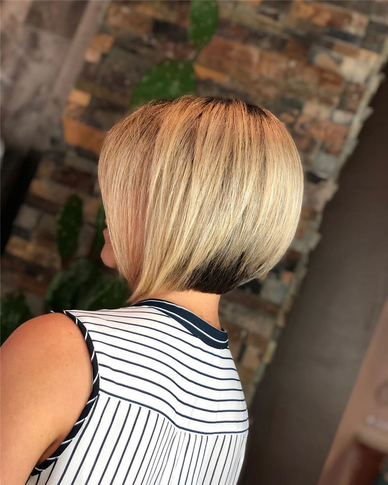 Most Trendy and Terrific Bob Haircuts for Charming Look-32
