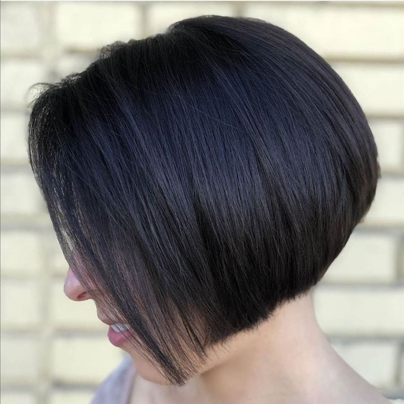 Most Trendy and Terrific Bob Haircuts for Charming Look-35