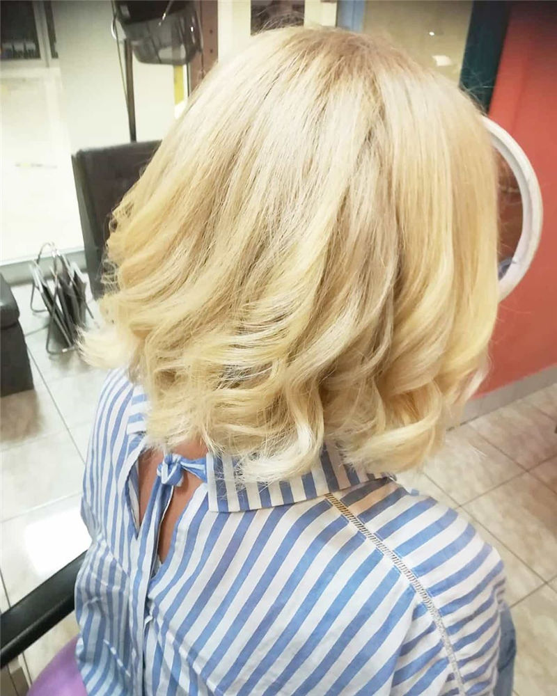 Most Trendy and Terrific Bob Haircuts for Charming Look-41