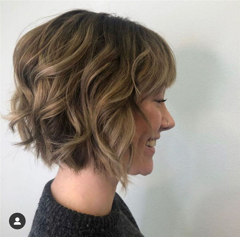 Most Trendy and Terrific Bob Haircuts for Charming Look-43