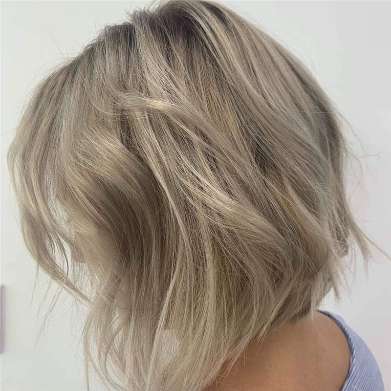 Most Trendy and Terrific Bob Haircuts for Charming Look-44