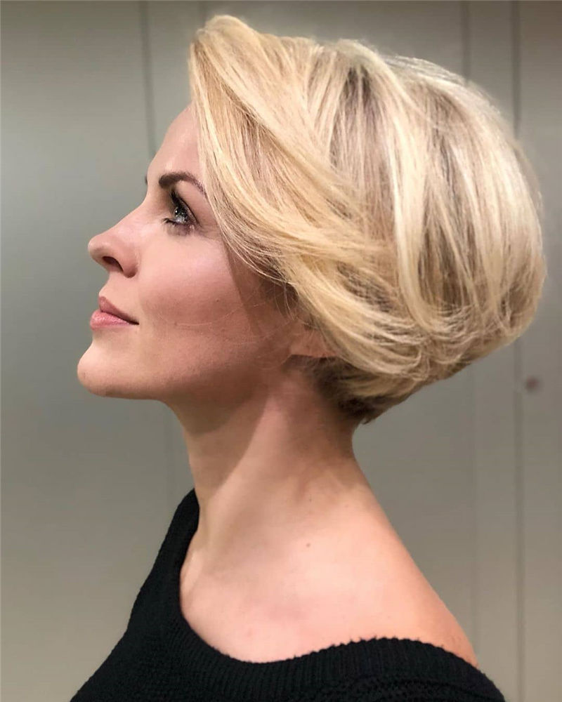 Most Trendy and Terrific Bob Haircuts for Charming Look-46