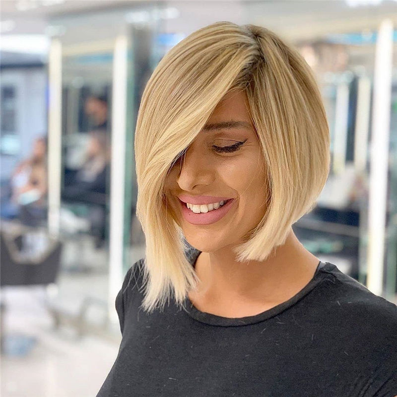 Most Trendy and Terrific Bob Haircuts for Charming Look-48
