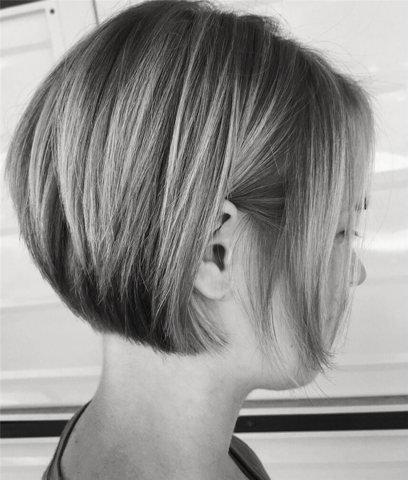 Most Trendy and Terrific Bob Haircuts for Charming Look-53