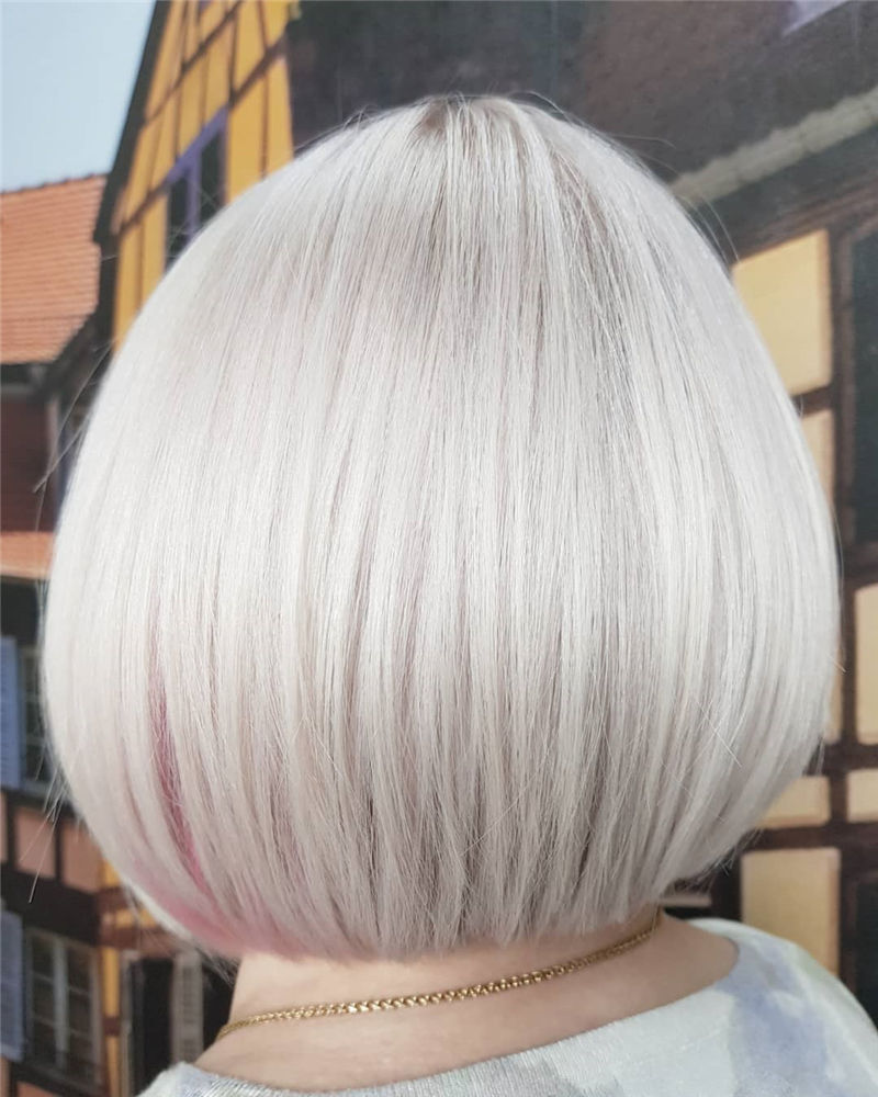 Most Trendy and Terrific Bob Haircuts for Charming Look-55