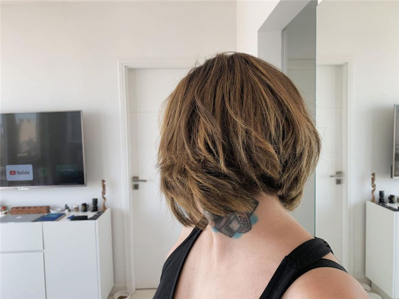 Most Trendy and Terrific Bob Haircuts for Charming Look-57