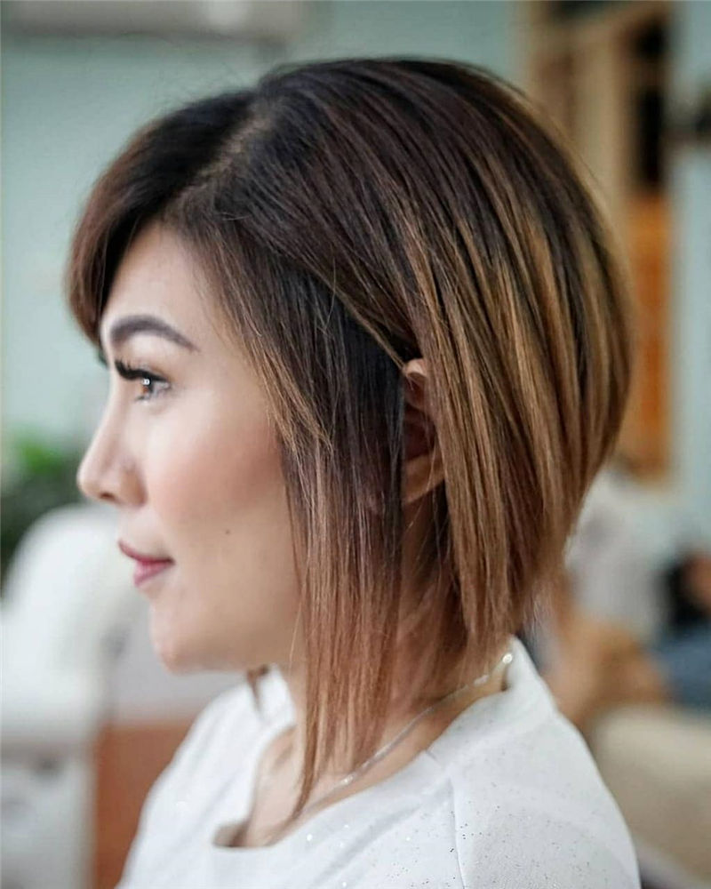 Most Trendy and Terrific Bob Haircuts for Charming Look-59