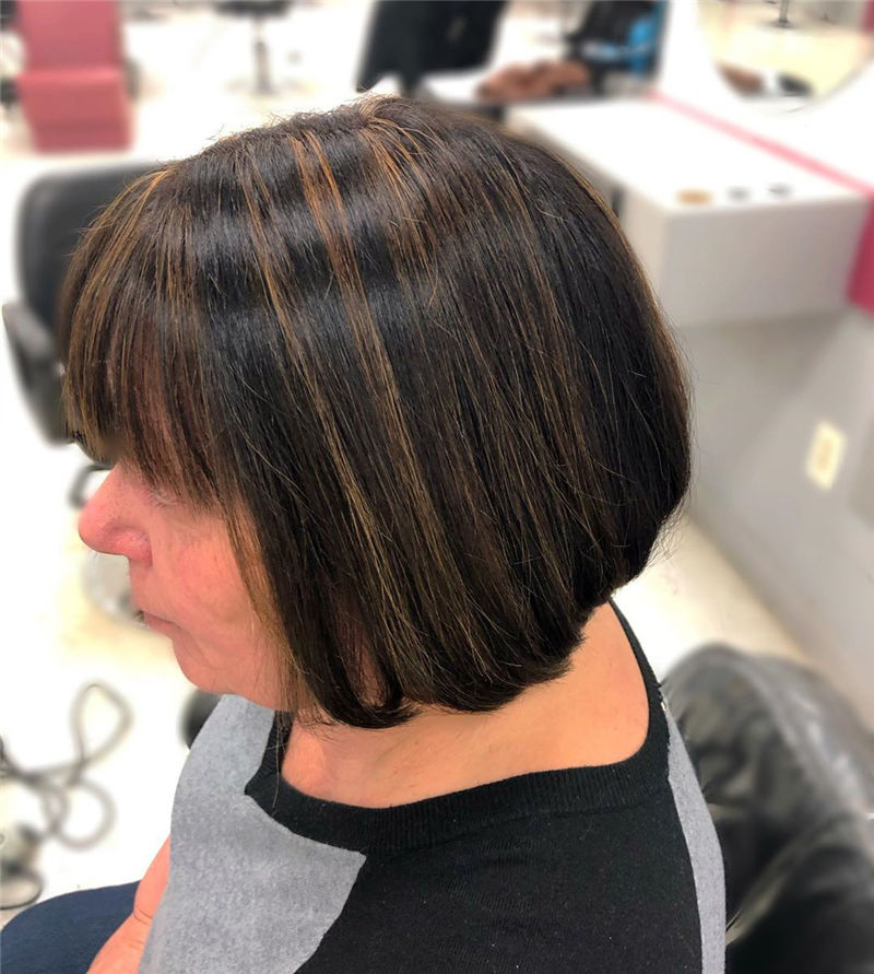 Most Trendy and Terrific Bob Haircuts for Charming Look-60